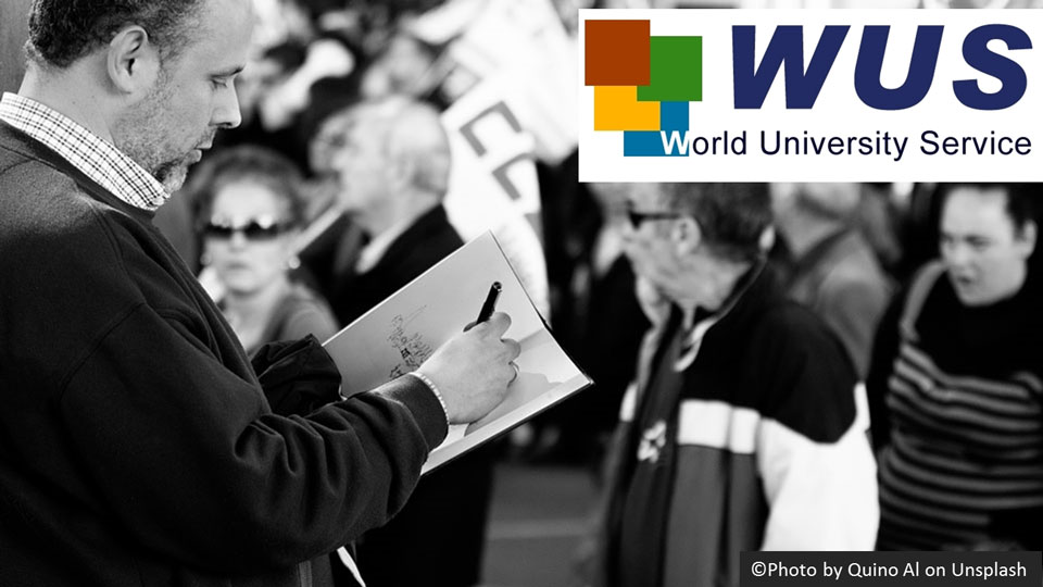 Apply now: World University Service (WUS) Award 2018