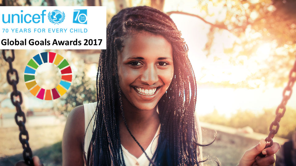Nominate now: Global Goals Award 2017