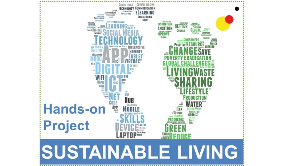The Hands-on Project 2015: Learning 'Sustainable Living' the digital way