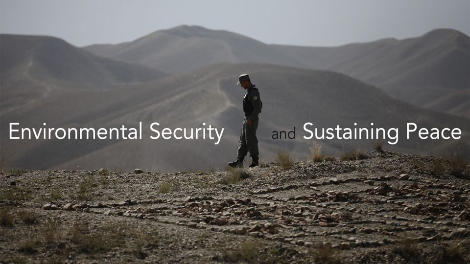"SDG Academy: Enroll now for ""Environmental Security and Sustaining Peace"""